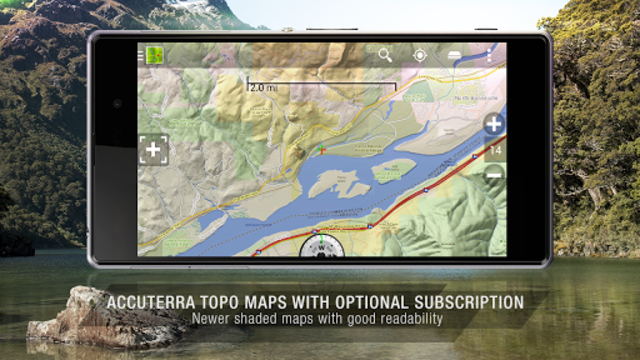 BackCountry Nav Topo Maps GPS - DEMO screenshot 3