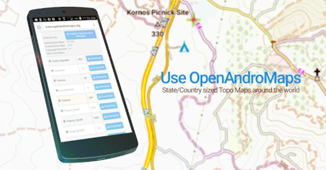 BackCountry Nav Topo Maps GPS - DEMO screenshot 5