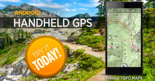 BackCountry Nav Topo Maps GPS - DEMO screenshot 7