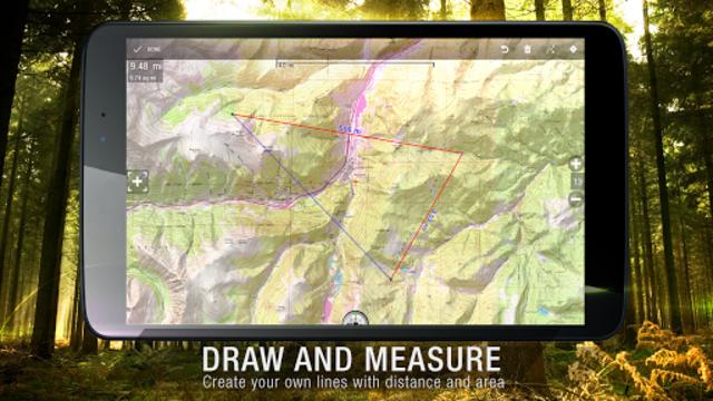 BackCountry Nav Topo Maps GPS - DEMO screenshot 22
