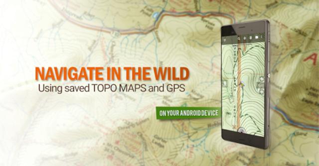 BackCountry Nav Topo Maps GPS - DEMO screenshot 1