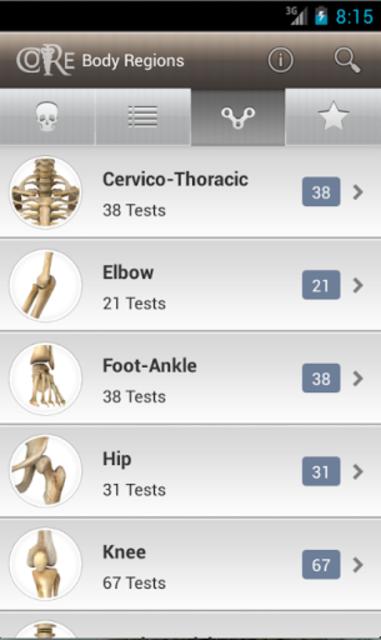 CORE-Clinical Orthopaedic Exam screenshot 3