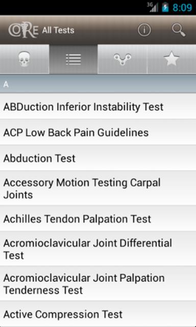 CORE-Clinical Orthopaedic Exam screenshot 4