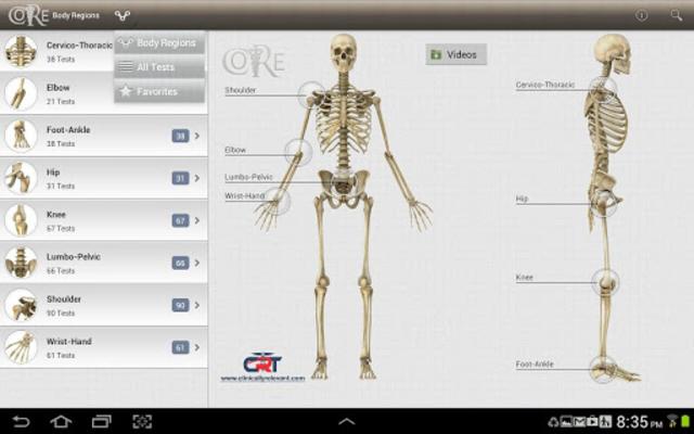 CORE-Clinical Orthopaedic Exam screenshot 7