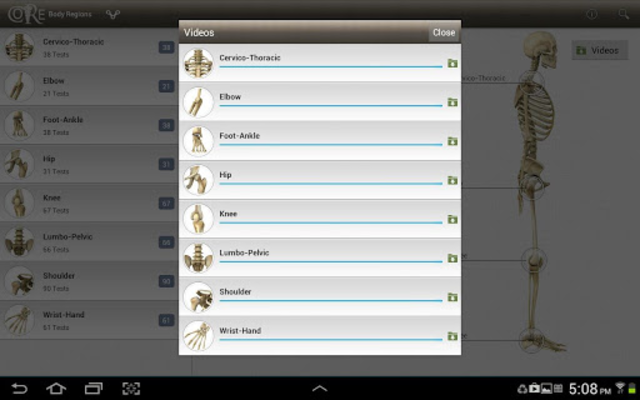 CORE-Clinical Orthopaedic Exam screenshot 8