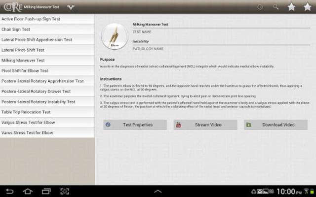 CORE-Clinical Orthopaedic Exam screenshot 9