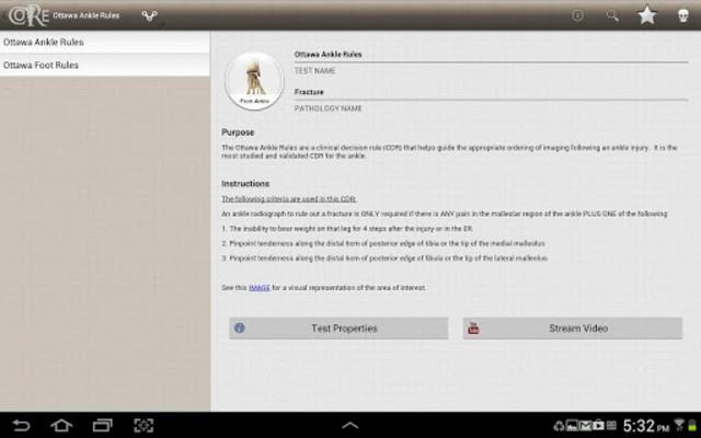 CORE-Clinical Orthopaedic Exam screenshot 10