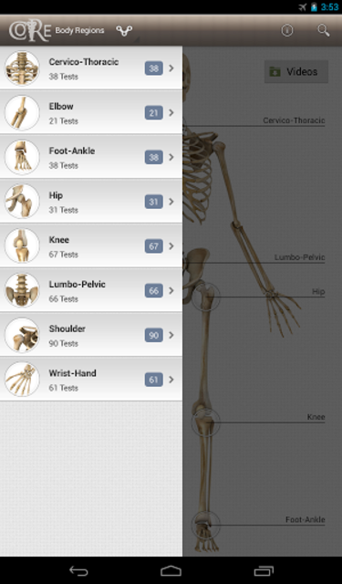 CORE-Clinical Orthopaedic Exam screenshot 14