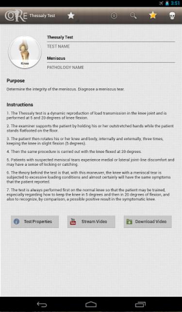 CORE-Clinical Orthopaedic Exam screenshot 15