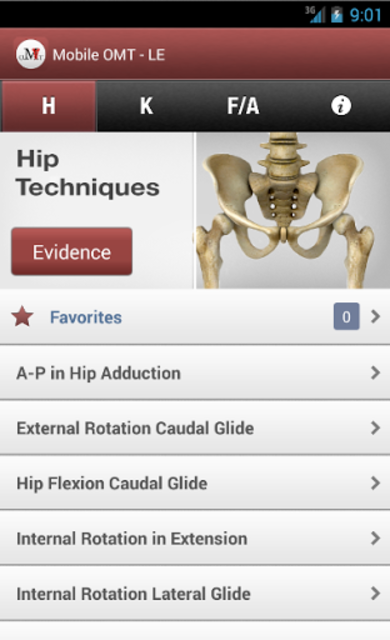 Mobile OMT Lower Extremity screenshot 1