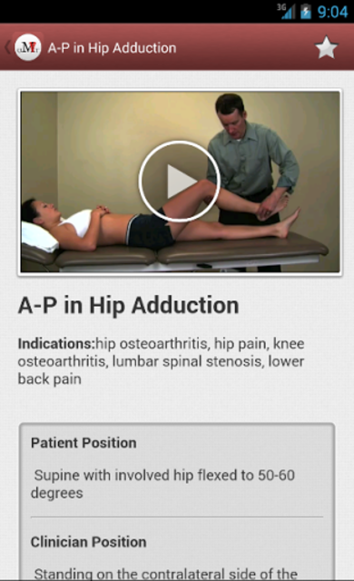 Mobile OMT Lower Extremity screenshot 2