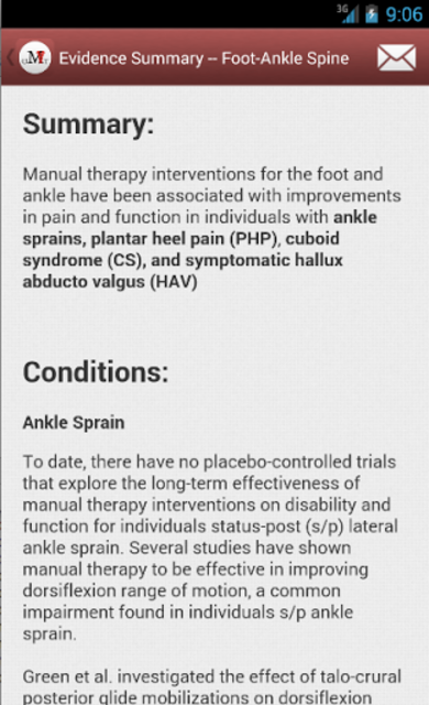 Mobile OMT Lower Extremity screenshot 3