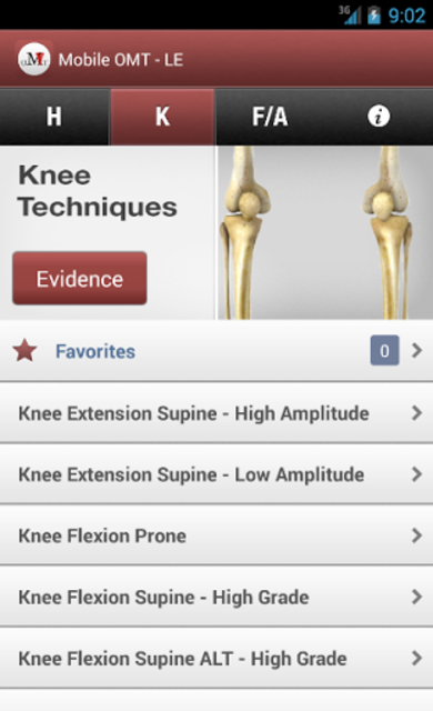 Mobile OMT Lower Extremity screenshot 4