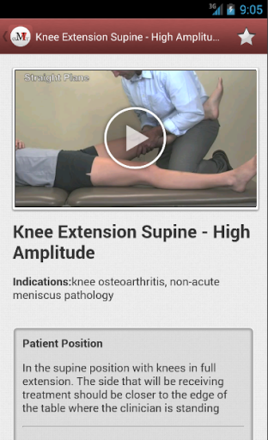 Mobile OMT Lower Extremity screenshot 5