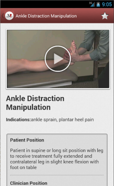 Mobile OMT Lower Extremity screenshot 7