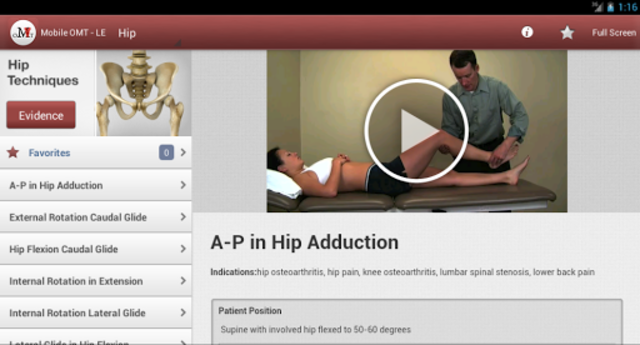 Mobile OMT Lower Extremity screenshot 8