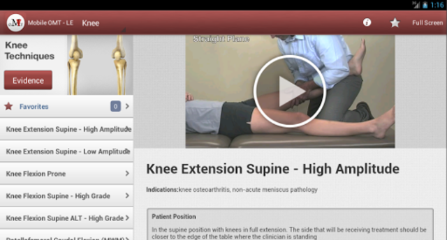 Mobile OMT Lower Extremity screenshot 9