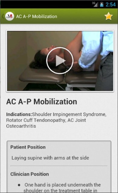 Mobile OMT Upper Extremity screenshot 2