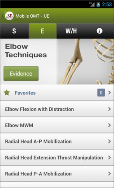 Mobile OMT Upper Extremity screenshot 3