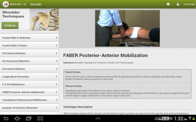 Mobile OMT Upper Extremity screenshot 10