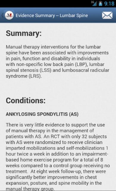 Mobile OMT Spine screenshot 7