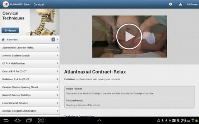 Mobile OMT Spine screenshot 8