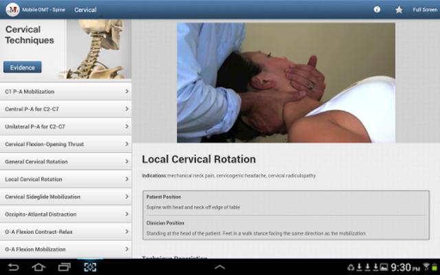 Mobile OMT Spine screenshot 9
