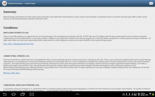 Mobile OMT Spine screenshot 11