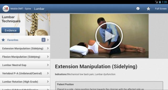 Mobile OMT Spine screenshot 14