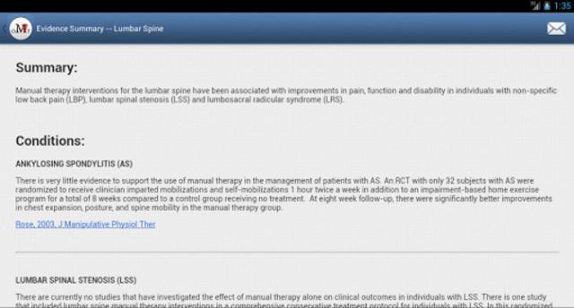 Mobile OMT Spine screenshot 15