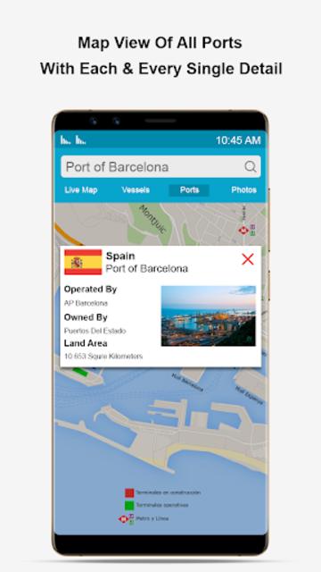 Marine Traffic Ship Finder-Vessel Position Tracker screenshot 2