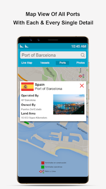 Marine Traffic Ship Finder-Vessel Position Tracker screenshot 10