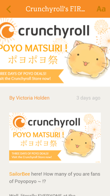 Crunchyroll News screenshot 4