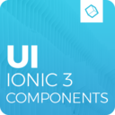 Icon for Ionic 3 Material Design UI Template - Blue Light
