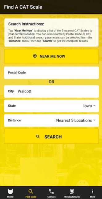 CAT Scale Locator screenshot 3