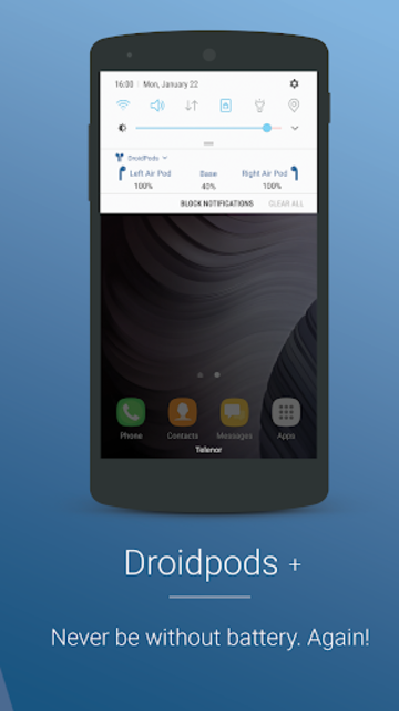Droidpods - Airpods for Android screenshot 4