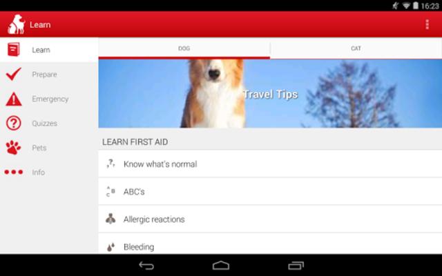 Pet First Aid - Red Cross screenshot 9