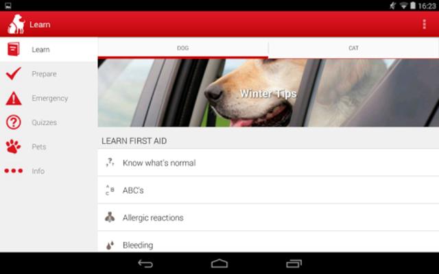 Pet First Aid - Red Cross screenshot 10