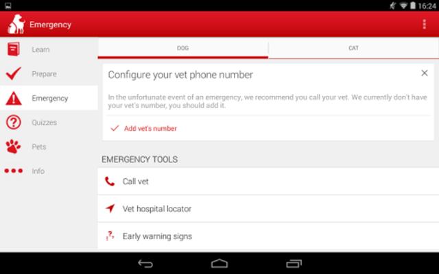 Pet First Aid - Red Cross screenshot 12