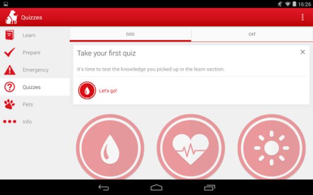 Pet First Aid - Red Cross screenshot 14
