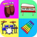 Icon for Music Instruments: Kids