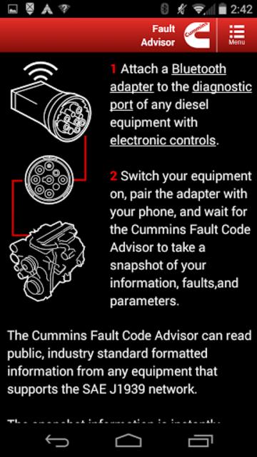 Cummins Fault Code Advisor screenshot 4