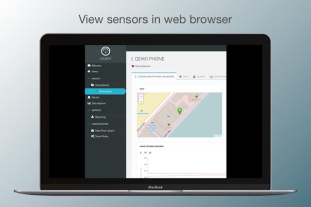 Cloud Sensor App screenshot 6
