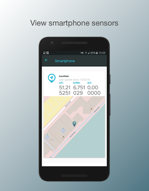 Cloud Sensor App screenshot 1