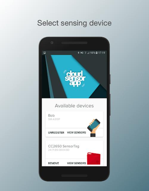 Cloud Sensor App screenshot 3