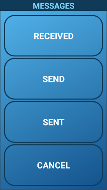 Grand SMS screenshot 2