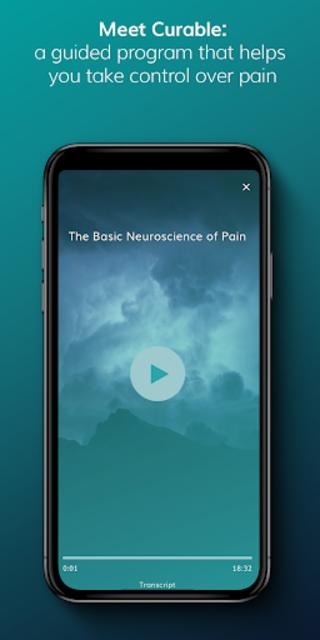 Curable: Back Pain, Migraine & Chronic Pain Relief screenshot 1