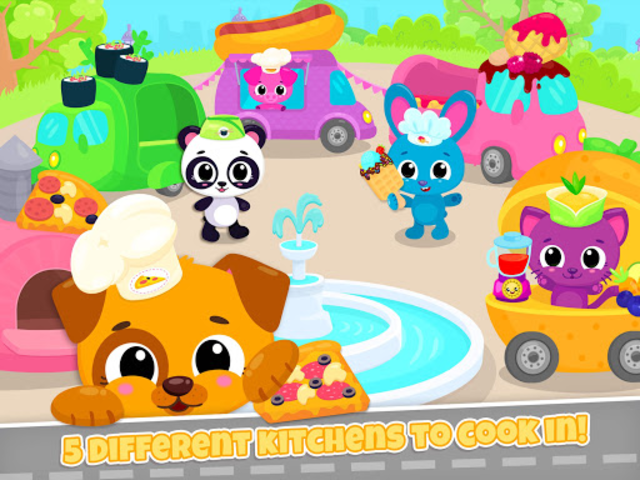 Cute & Tiny Food Trucks - Cooking with Baby Pets screenshot 12