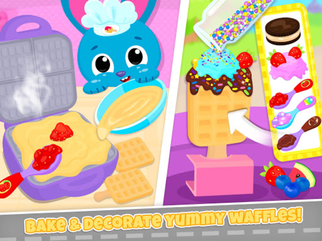 Cute & Tiny Food Trucks - Cooking with Baby Pets screenshot 15