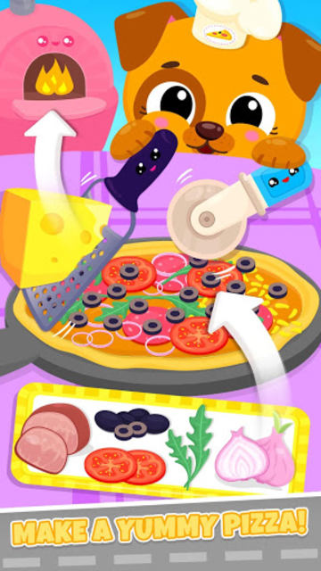 Cute & Tiny Food Trucks - Cooking with Baby Pets screenshot 2